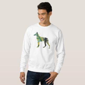 Dobermannpinscher-Kunst Sweatshirt