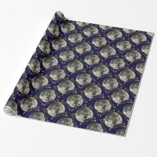 Dobermannpinscher-Mond Geschenkpapier