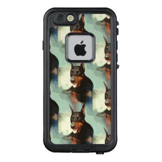 Dobermannpinscher-Porträt LifeProof FRÄ' iPhone 6/6s Hülle