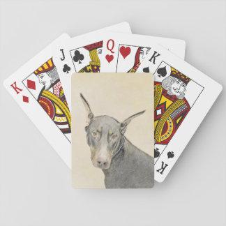 DobermannPinscher Spielkarten