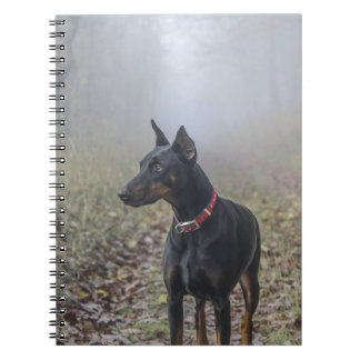 DobermannPinscher Spiral Notizblock