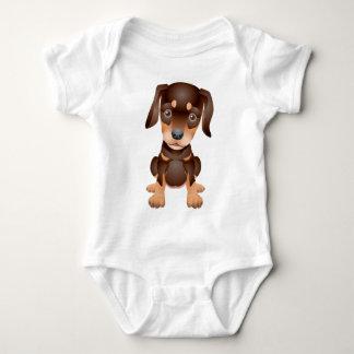 Dobermannwelpe Baby Strampler