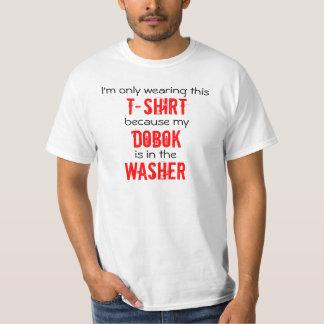Dobok im Waschmaschinen-Taekwondo-T - Shirt