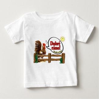 Dobré ráno!  Gutenmorgen auf Tschechen! Baby T-shirt