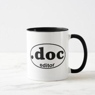.DOC Herausgeber-Kaffee-Tasse Tasse