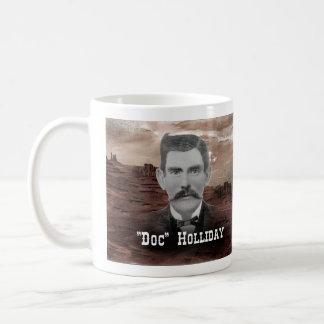 """Doc."" Holliday Kaffeetasse"