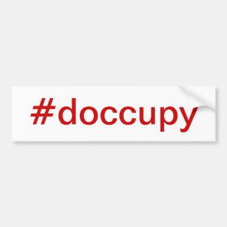 #doccupy Autoaufkleber