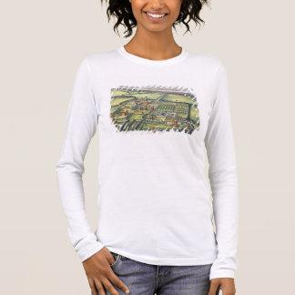 Doddington im Landkreis von Lincoln gravierte Langarm T-Shirt