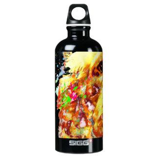 Doddle und Aquarell Wasserflasche