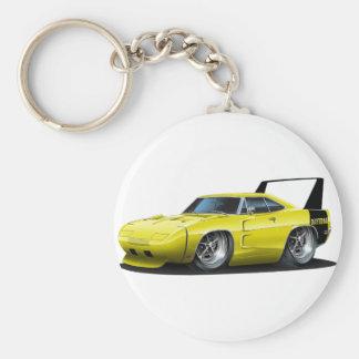Dodge Daytona gelbes Auto Schlüsselanhänger