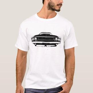 Dodge-Herausforderer-Front 1970 und Rückseite T-Shirt