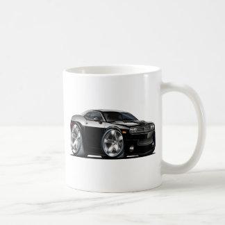 Dodge-Herausforderer-Schwarz-Auto Kaffeetasse