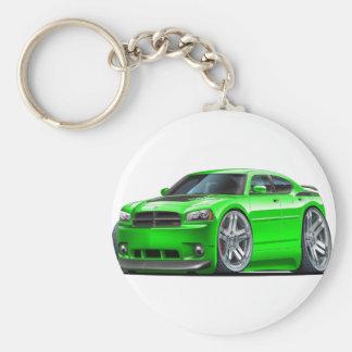 Dodge-Ladegerät Daytona grünes Auto Schlüsselanhänger