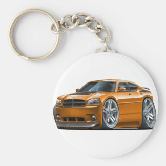 Dodge-Ladegerät Daytona Orangen-Auto Schlüsselanhänger