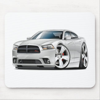 Dodge-Ladegerät Funktelegrafie-Weiß-Auto Mousepad