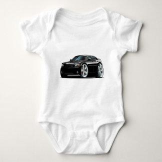 Dodge-Ladegerät-Superbienen-Schwarz-Auto Baby Strampler