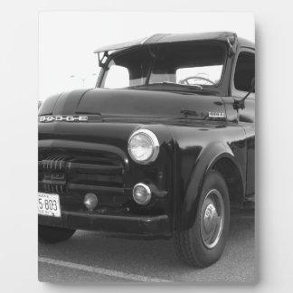 Dodge-Lieferwagen 1952 Fotoplatte