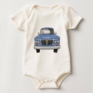 Dodge-Lieferwagen-LKW 1965 Baby Strampler