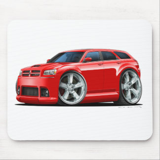 Dodge-Magnum-Rot-Auto Mousepad