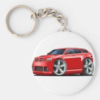Dodge-Magnum-Rot-Auto Schlüsselanhänger