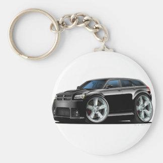 Dodge-Magnum-Schwarz-Auto Schlüsselanhänger