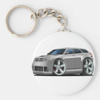 Dodge-Magnum-Silber-Auto Schlüsselanhänger