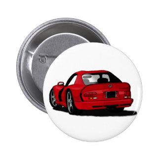 Dodge-Viper-Knopf Runder Button 5,1 Cm