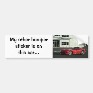 Dodge-Viper RT/10 Autoaufkleber