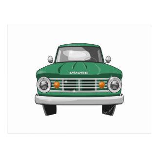 Dodgefargo-LKW 1967 Postkarte