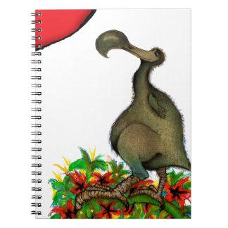 Dodo die Liebe der tony fernandess Spiral Notizblock