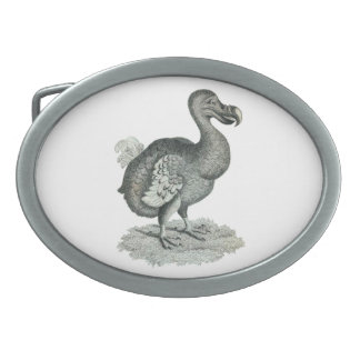 Dodo-Druck-Schnalle Ovale Gürtelschnallen