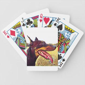 Doerman Strudel-Farbe 3 Bicycle Spielkarten