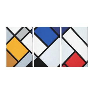 Doesburg - Gegen-Zusammensetzung von Dissonances Leinwanddruck