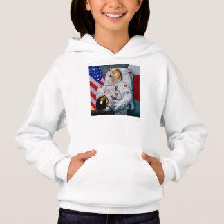 Doge Astronaut-doge-shibeDoge Hund-niedlicher Doge Hoodie