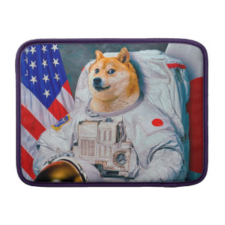 Doge Astronaut-doge-shibeDoge Hund-niedlicher Doge MacBook Air Sleeve