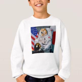 Doge Astronaut-doge-shibeDoge Hund-niedlicher Doge Sweatshirt