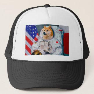 Doge Astronaut-doge-shibeDoge Hund-niedlicher Doge Truckerkappe