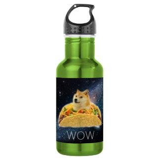Doge Taco - Doge-shibeDoge Hund-niedlicher Doge Edelstahlflasche