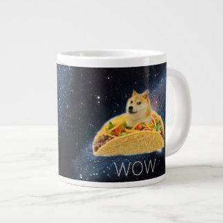 Doge Taco - Doge-shibeDoge Hund-niedlicher Doge Jumbo-Tasse