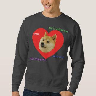 Doge viel Valentinstag-sehr Liebe so romantisch Sweatshirt