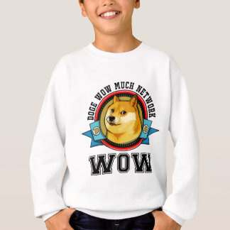 Doge wow viel Netz wow Sweatshirt