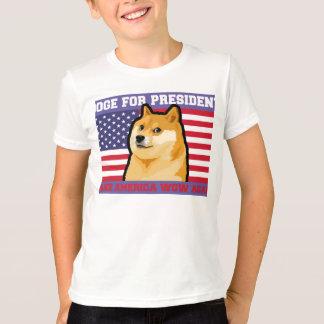 Dogepräsident - Doge-shibeDoge Hund-niedlicher T-Shirt