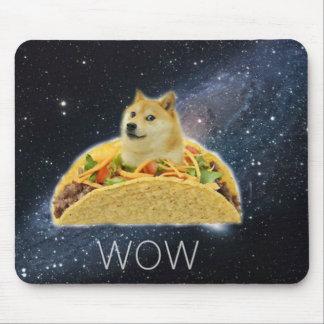 Dogeraum Taco meme Mousepad