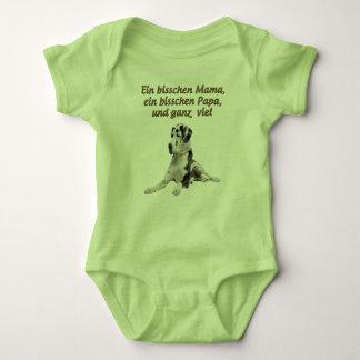 Dogge - bisschen-01 baby strampler