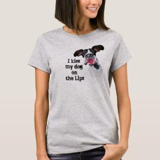 Dogge-Freunde küssen meinen Hund T-Shirt