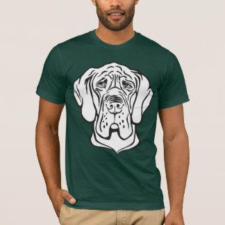 Dogge-Gesicht T-Shirt