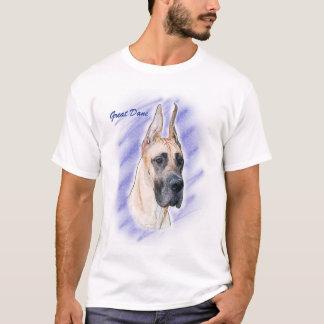 Dogge-Grafik - Kitz-Däne T-Shirt
