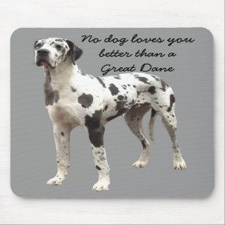Dogge-Harlekin Mousepad