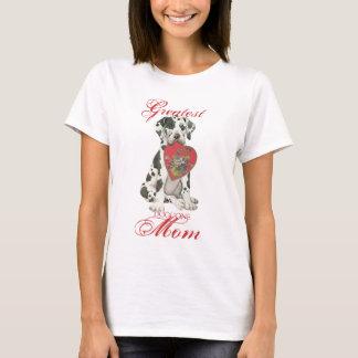 Dogge-Herz-Mamma T-Shirt