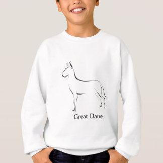 Dogge-Kleid Sweatshirt